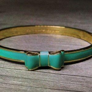 ♠️Kate Spade ♠️ Green Bangle Bracelet